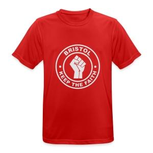 Bristol Keep Faith - T - Men's Breathable T-Shirt