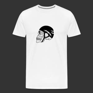 Bergsteigerskull - Männer Premium T-Shirt