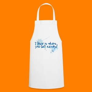 Talk nerdy men's classic tee - Cooking Apron