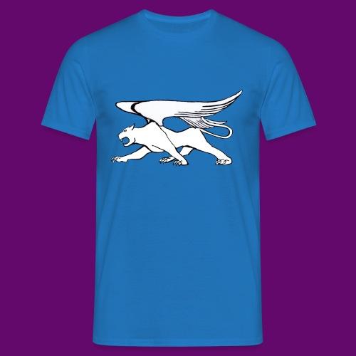 Panthère Blanche ailée (création Louis RUNEMBERG) - T-shirt Homme