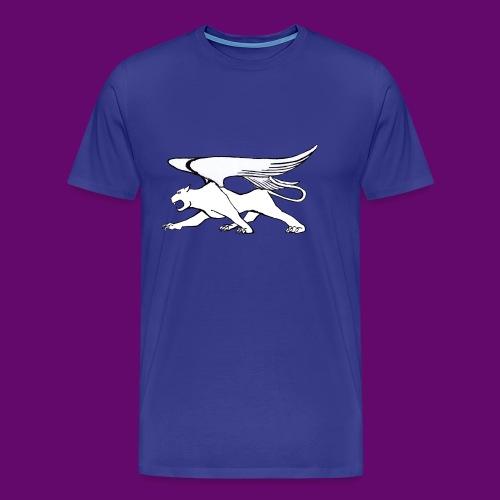 Panthère Blanche ailée (création Louis RUNEMBERG) - T-shirt Premium Homme
