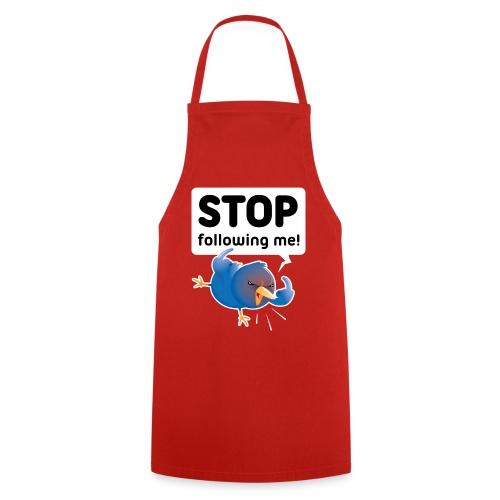 Stop following me (voorkant) - Keukenschort
