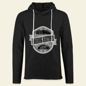Raredog Kustoms Tee  - Let sweatshirt med hætte, unisex