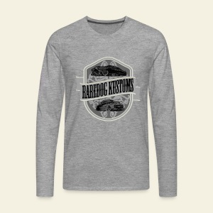 Raredog Kustoms Tee  - Herre premium T-shirt med lange ærmer