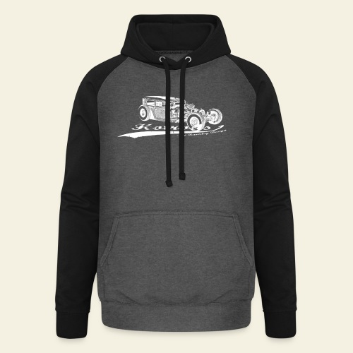 Hotrods by Raredog  - Unisex baseball hoodie