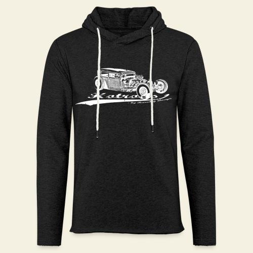 Hotrods by Raredog  - Let sweatshirt med hætte, unisex