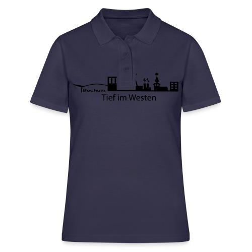 Skyline Bochum - Shirt klassisch - Frauen Polo Shirt