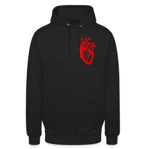 I love / I heart Herz Anatomy  T-Shirts - Unisex Hoodie