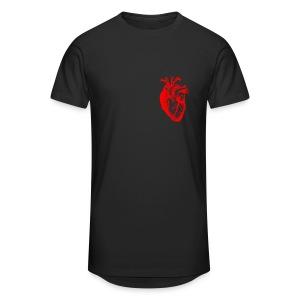 I love / I heart Herz Anatomy  T-Shirts - Männer Urban Longshirt