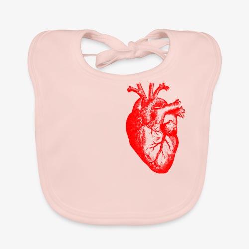 I love / I heart Herz Anatomy  T-Shirts - Baby Bio-Lätzchen