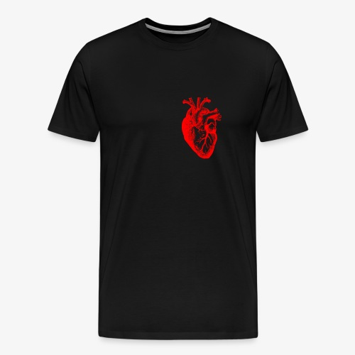 I love / I heart Herz Anatomy  T-Shirts - Männer Premium T-Shirt