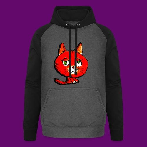 chats - Sweat-shirt baseball unisexe