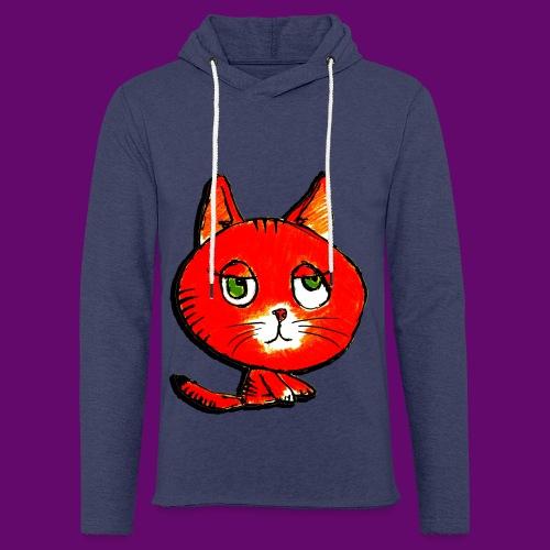 chats - Sweat-shirt à capuche léger unisexe