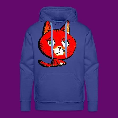 chats - Sweat-shirt à capuche Premium pour hommes