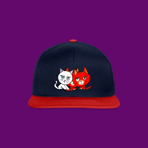 chats - Casquette snapback