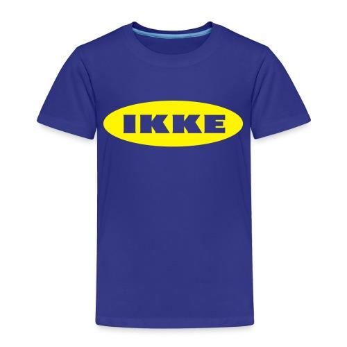 IKKE - Premium T-skjorte for barn