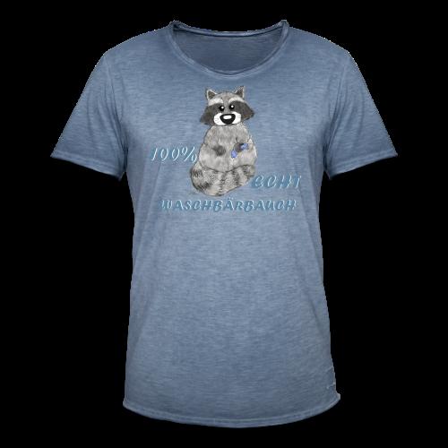 Waschbärbauch reloaded (extragroß) - Männer Vintage T-Shirt