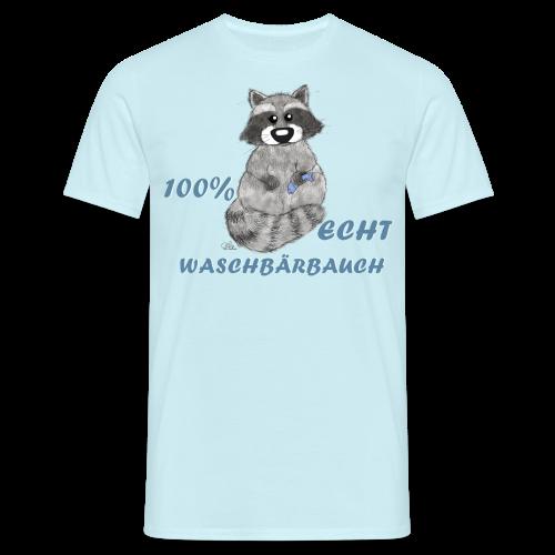 Waschbärbauch reloaded (extragroß) - Männer T-Shirt
