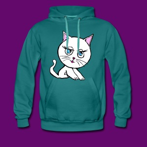 HELLO KATA - Sweat-shirt à capuche Premium pour hommes