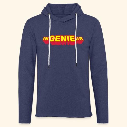 inGENIEur, Superheld - Leichtes Kapuzensweatshirt Unisex