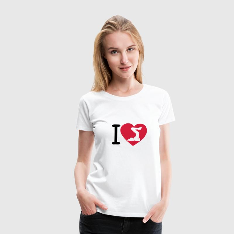 i love fille_sexy4 Tee shirts - T-shirt Premium Femme