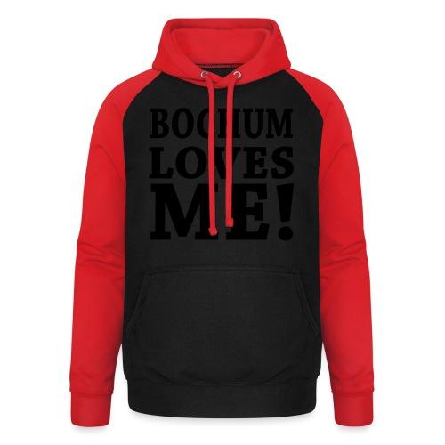 BOCHUM LOVES ME! - Shirt klassisch - Unisex Baseball Hoodie