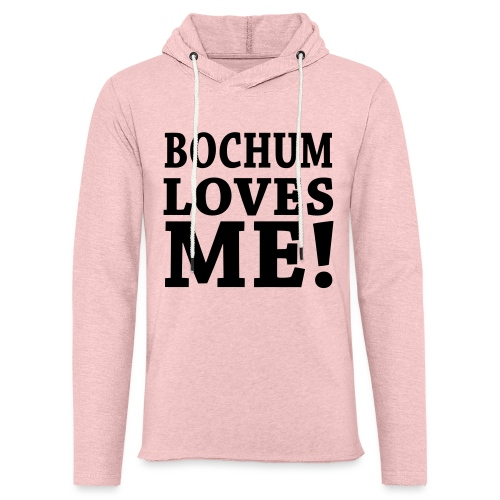 BOCHUM LOVES ME! - Shirt klassisch - Leichtes Kapuzensweatshirt Unisex