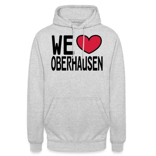 WE ♥ OBERHAUSEN - Shirt klassisch - Unisex Hoodie