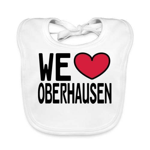 WE ♥ OBERHAUSEN - Shirt klassisch - Baby Bio-Lätzchen
