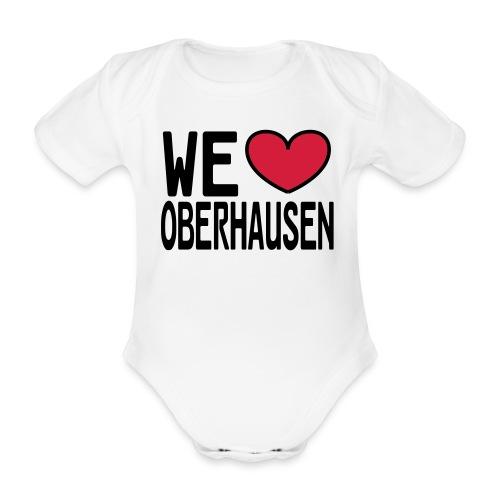 WE ♥ OBERHAUSEN - Shirt klassisch - Baby Bio-Kurzarm-Body