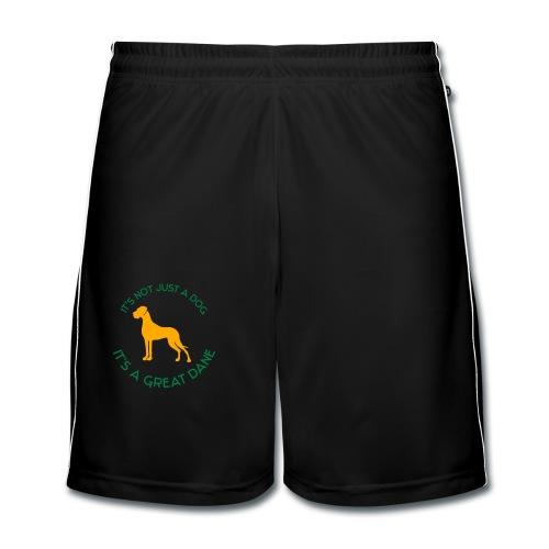 Damen Übergrößen Shirt  - Männer Fußball-Shorts