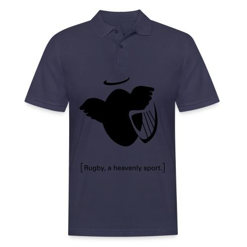 Männer T-Shirt Motiv: A heavenly sport. - Männer Poloshirt