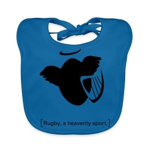 Männer T-Shirt Motiv: A heavenly sport. - Baby Bio-Lätzchen