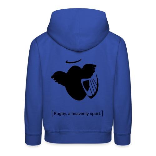 Männer T-Shirt Motiv: A heavenly sport. - Kinder Premium Hoodie