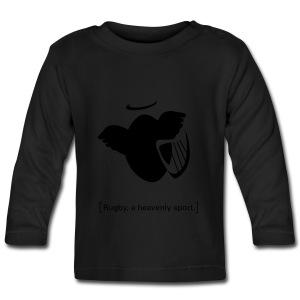 Männer T-Shirt Motiv: A heavenly sport. - Baby Langarmshirt