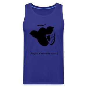 Männer T-Shirt Motiv: A heavenly sport. - Männer Premium Tank Top