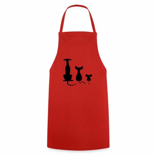 Dog Cat Mouse - Kochschürze