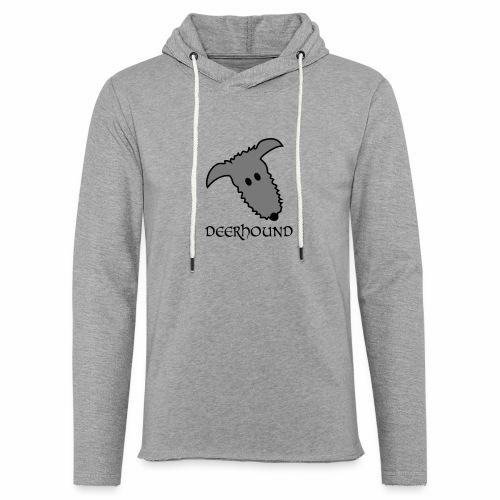Comic-Deerhound - Leichtes Kapuzensweatshirt Unisex