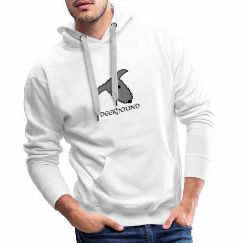Comic-Deerhound - Männer Premium Hoodie