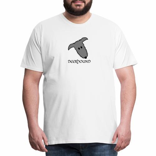Comic-Deerhound - Männer Premium T-Shirt
