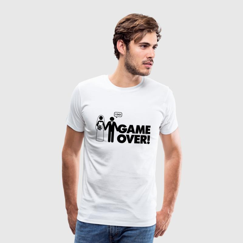 Game Over 2 (1c)++ Tee shirts - T-shirt Premium Homme