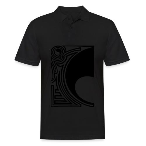 girlyshirt ying yang double part one - Männer Poloshirt