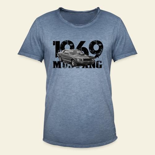 1969 M ustang HT  - Herre vintage T-shirt