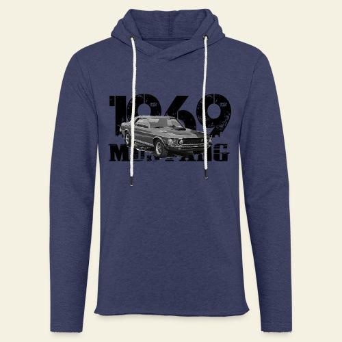1969 M ustang HT  - Let sweatshirt med hætte, unisex