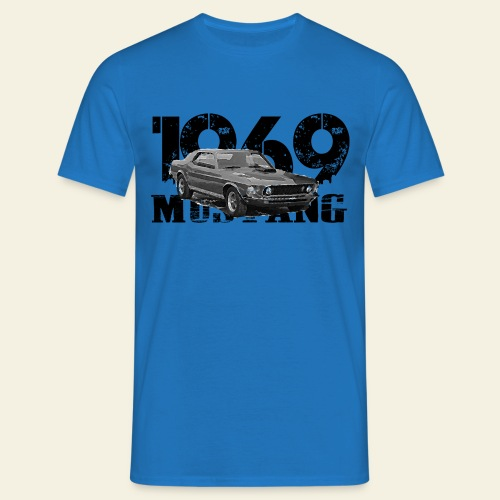 1969 M ustang HT  - Herre-T-shirt