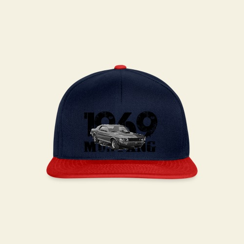 1969 M ustang HT  - Snapback Cap