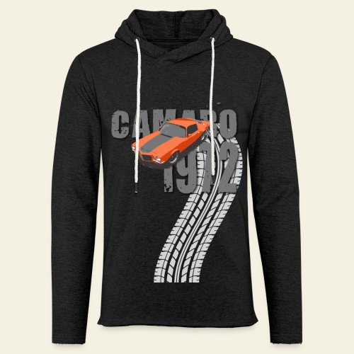 1972 Camaro  - Let sweatshirt med hætte, unisex