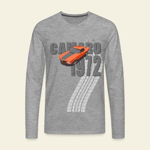 1972 Camaro  - Herre premium T-shirt med lange ærmer
