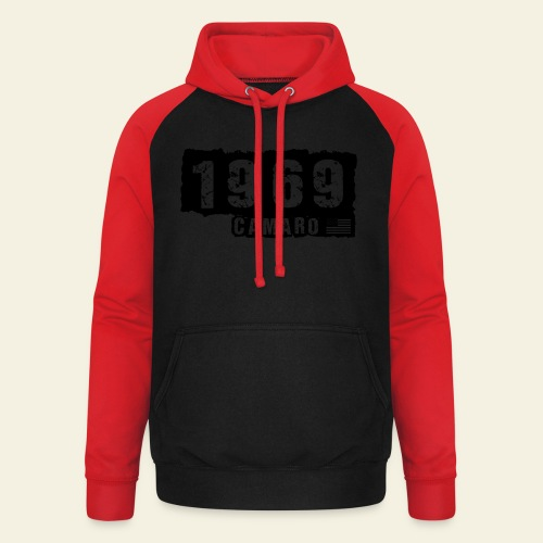 1969 Camaro - Unisex baseball hoodie