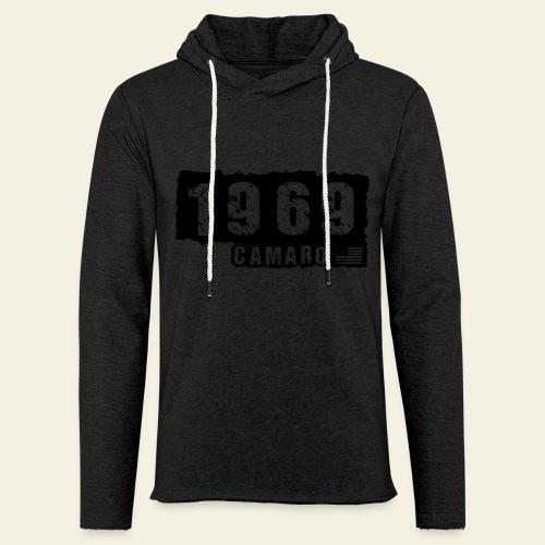 1969 Camaro T-shirt  - Let sweatshirt med hætte, unisex